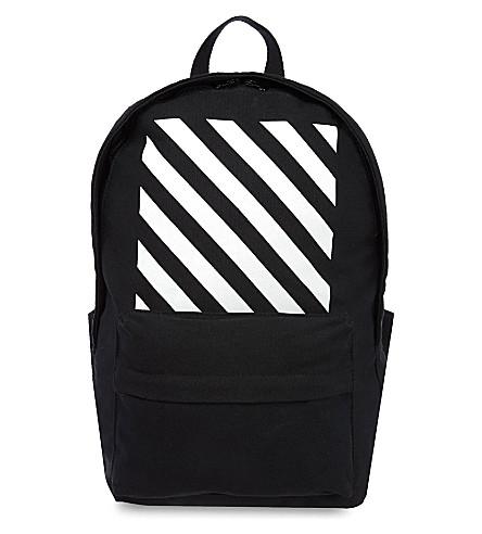 OFF-WHITE C/O VIRGIL ABLOH Canvas backpack (Black