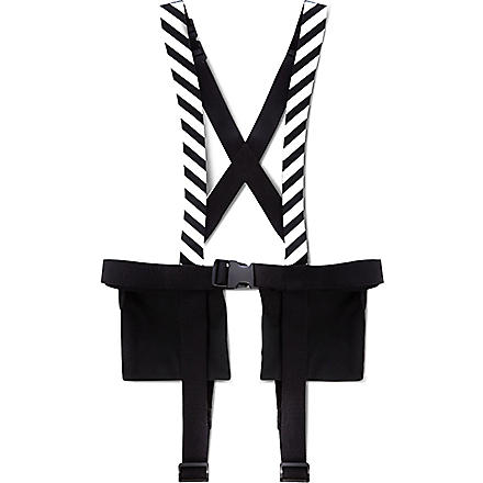 OFF-WHITE C/O VIRGIL ABLOH Military pocket strap holster (Black