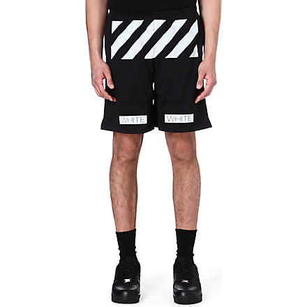 OFF-WHITE C/O VIRGIL ABLOH Striped shorts (Black