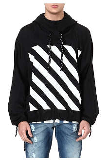OFF-WHITE C/O VIRGIL ABLOH Striped windbreaker hoody