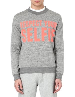 SELFRIDGES Selfies logo sweatshirt