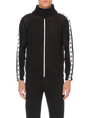 PIGALLE Mesh bomber jacket