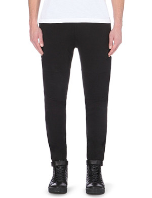 CHEF LONDON Knee-panel slim-fit tapered jogging bottoms