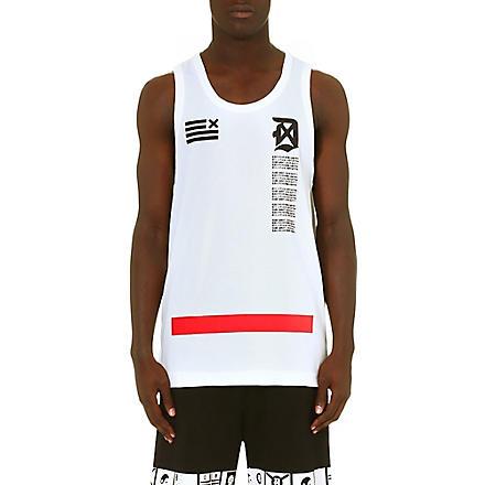 DOPE CHEF Japan Script vest (White