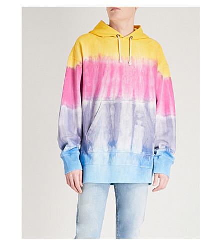 CHAMPION Oversized tie-dyed jersey hoody (Multi+tie+dye
