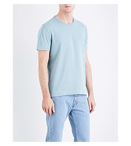 CHAMPION Classic cotton-jersey T-shirt (Blue