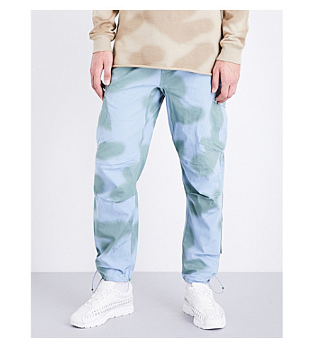 MAHARISHI Camouflage regular-fit cotton trousers (Skyline+ghost