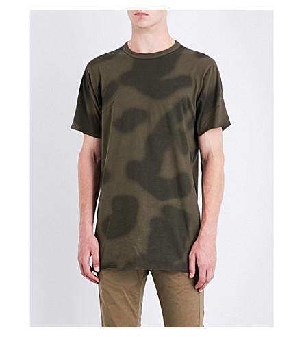 MAHARISHI Camouflage-print cotton-jersey T-shirt (Woodland
