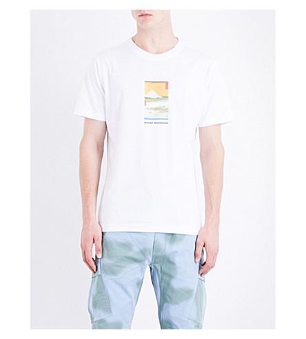 MAHARISHI Fuji cotton-jersey T-shirt (White