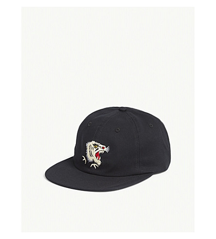 MAHARISHI Tiger baseball cap (Black