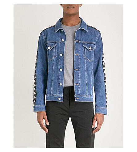 KAPPA KONTROLL Side-stripe denim jacket (Denim