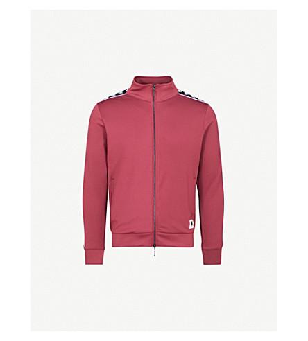KAPPA KONTROLL Logo-print woven jacket (Red