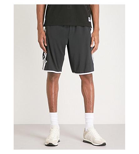KAPPA KONTROLL Logo-print woven shorts (Black