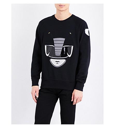 BOBBY ABLEY Ranger cotton-jersey sweatshirt (Black