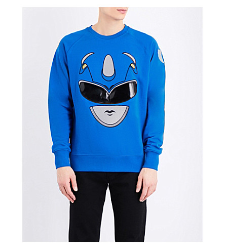 BOBBY ABLEY Ranger cotton-jersey sweatshirt (Blue