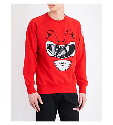 BOBBY ABLEY Ranger cotton-jersey sweatshirt (Red