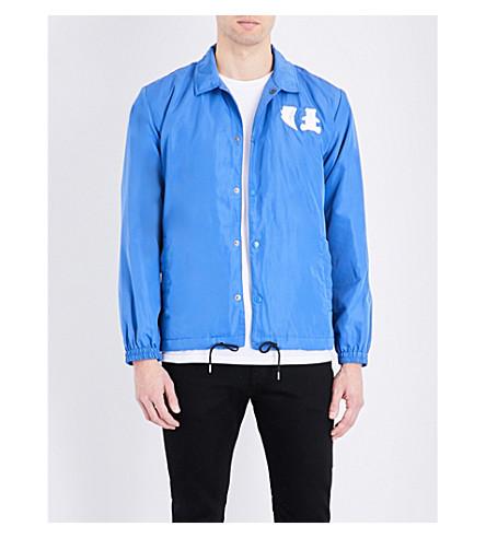 BOBBY ABLEY Power Ranger shell jacket (Blue