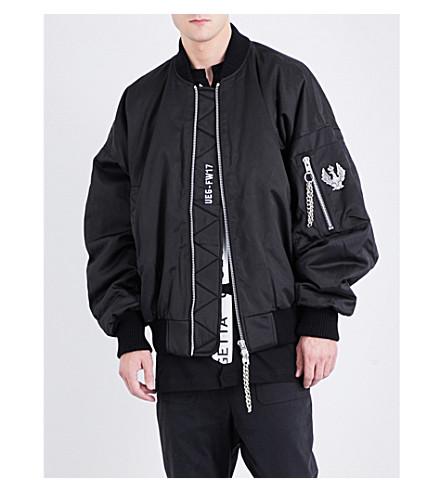 UEG Dissenter cotton-blend bomber jacket (Black