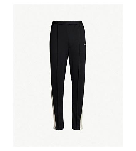 AMBUSH Side-stripe jersey track pants (Black