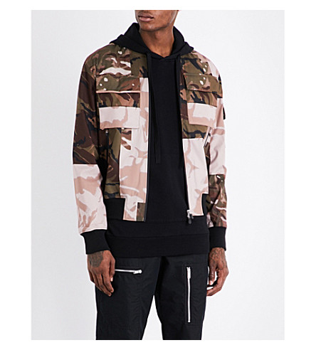 RAEBURN X SAVE THE DUCK Christopher Raeburn x Save the Duck shell jacket (Camo