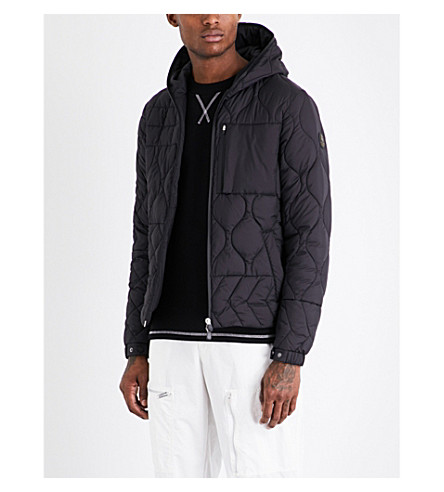 RAEBURN X SAVE THE DUCK Christopher Raeburn x Save the Duck quilted jacket (Black