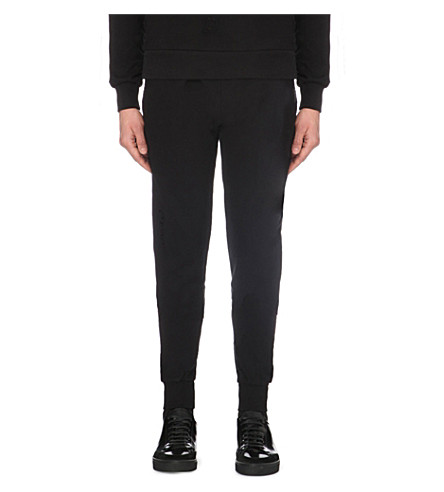 CRIMINAL DAMAGE Shoreditch cotton-jersey jogging bottoms (Black