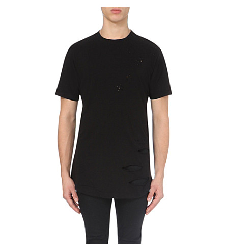 CRIMINAL DAMAGE Shoreditch cotton-jersey t-shirt (Black