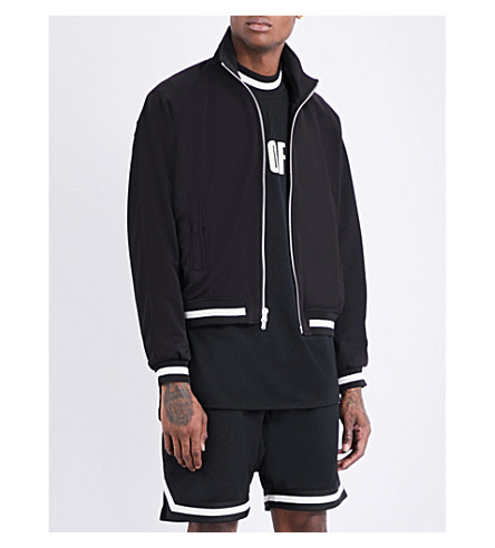 FEAR OF GOD Fifth Collection funnel-neck jersey jacket (Black