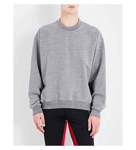 FEAR OF GOD Fifth Collection cotton-jersey sweatshirt (Heather+grey