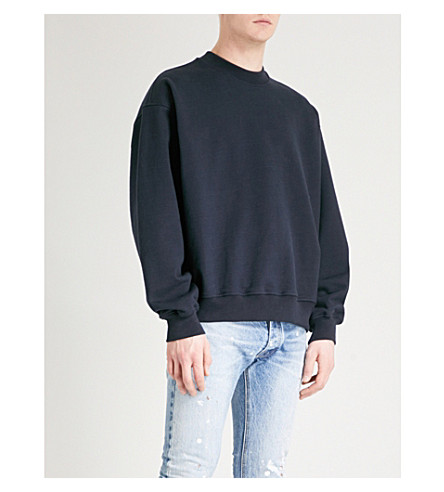 FEAR OF GOD Fifth Collection cotton-jersey sweatshirt (Navy