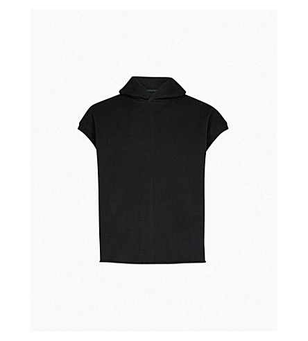 FEAR OF GOD Fifth Collection sleeveless cotton-jersey hoody (Black