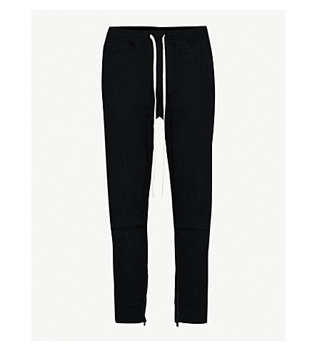 FEAR OF GOD Fifth collection slim-fit cotton-jersey jogging bottoms (Black