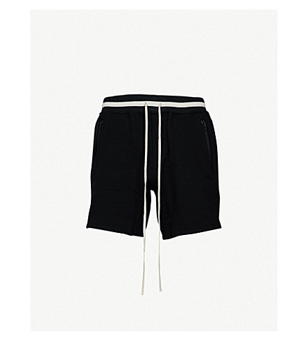 FEAR OF GOD Relaxed-fit cotton-blend shorts (Black