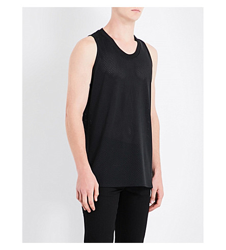 FEAR OF GOD Fifth Collection sleeveless mesh top (Black