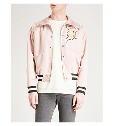 FEAR OF GOD Fifth Collection Manuel satin bomber jacket (Blush