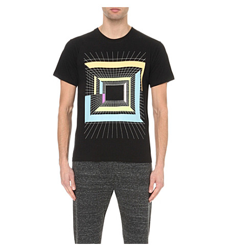 STAR WARS FORCE FOR CHANGE Peter Pilotto graphic-print cotton-jersey t-shirt (Black