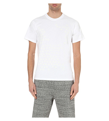 STAR WARS FORCE FOR CHANGE Christopher Raeburn tonal graphic-print cotton-jersey t-shirt (White