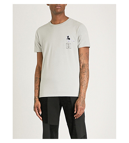 CHRISTOPHER RAEBURN Jerboa cotton-jersey T-shirt (Light+grey