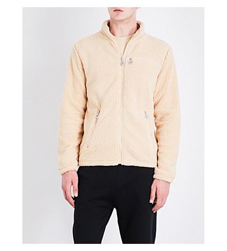 FILA Zip-up fleeced jacket (Marzipan
