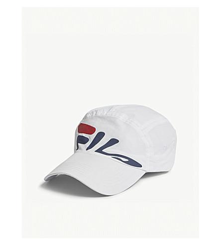 FILA Mindblower nylon baseball cap (White