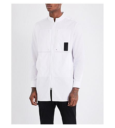 LETASCA Pocket-detailed regular-fit cotton shirt (White