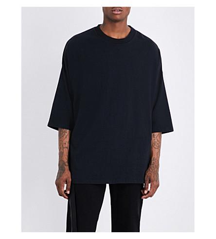 UNRAVEL Vintage cotton-jersey T-shirt (Black
