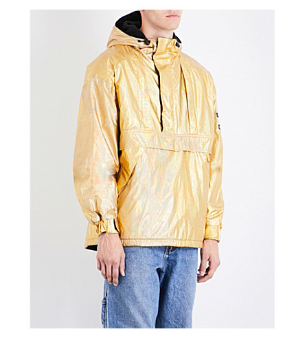 NOT APPLICABLE Tommy Hilfiger metallic shell jacket (Gold