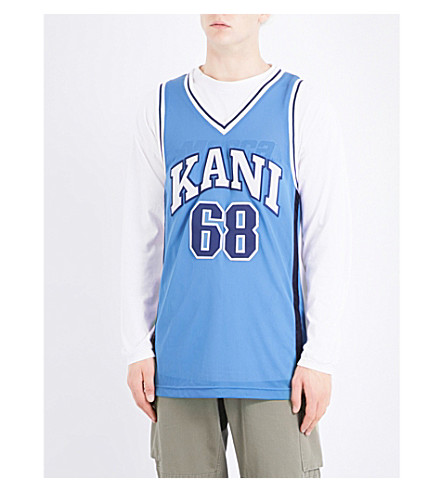 NOT APPLICABLE Kani sleeveless jersey top (Blue