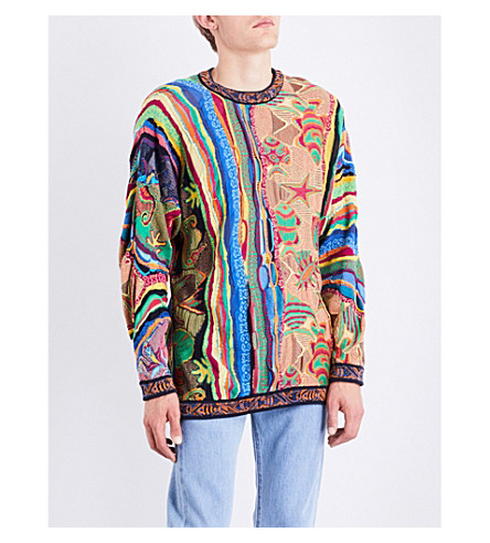 NOT APPLICABLE Coogi mercerised cotton jumper (Multi