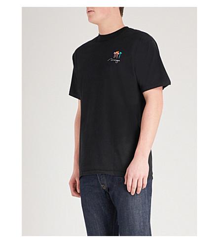 不适用 Lamyland 霍利菲尔德诉道格拉斯棉泽 t恤衫 (黑色