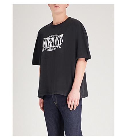 NOT APPLICABLE Lamyland Everlast cotton-jersey T-shirt (Black