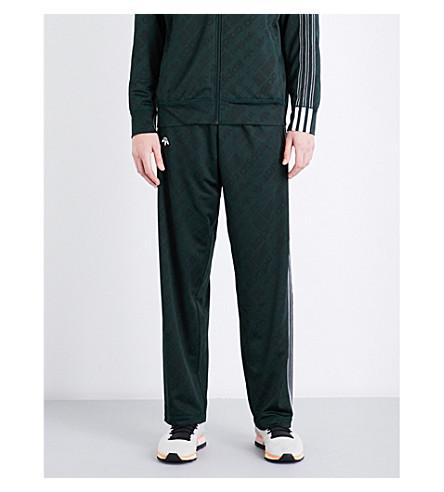 ADIDAS X ALEXANDER WANG Logo jacquard jersey jogging bottoms (Green