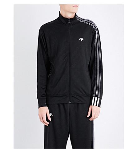 ADIDAS X ALEXANDER WANG Zip-up jacquard track jacket (Black