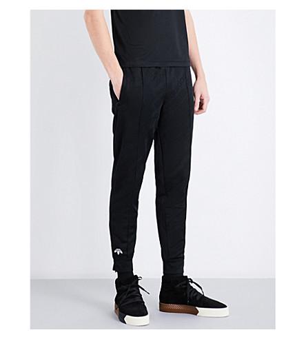 ADIDAS X ALEXANDER WANG 3-stripes-detail jacquard jogging bottoms (Black
